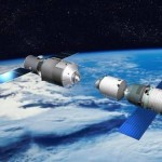 Science Art: <i>Tiangong 1</i>, by China Manned Space Engineering, 2011