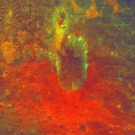 Science Art: <i>False-Color Image Shows Proof of an Impact</i>, by NASA&#8217;s Dawn spacecraft