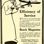 Science Art: <I>Bosch Magneto ad</i>, Aeronautics, <i>July, 1912</i>