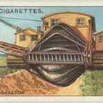 Science Art: <i>Giant Excavator</i>, Wills&#8217; Cigarettes.