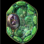 Science Art: <i>Plant Cell Structure</i>, by Russell Kightley