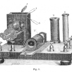 Science Art: <i>Appareil Electromedical de G. Trouvet</i>, from <i>La Nature</i>, 1878