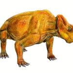 Science Art: <i>Life restoration of</i> Ischigualastia jenseni, by Smokeybjb