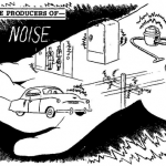 Science Art: <i>Man-Made Producers of Noise</i>, by Van Valkenburgh, Nooger &#038; Neville, 1959.