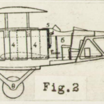 Science Art: <i>Fig. 2</i> from &#8220;Drawings, views and engine of the Levasseur transatlantic plane&#8221; in NACA Aircraft Circular #50, <i>Levasseur 8 Transatlantic Airplane</i>, 1927.