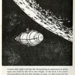 Science Art: <i>A space-ship might look like this</i>, John W. Wood, 1968.