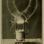 Science Art: <i>Plate 3.  Compare this medical high frequency apparatus&#8230;</i>