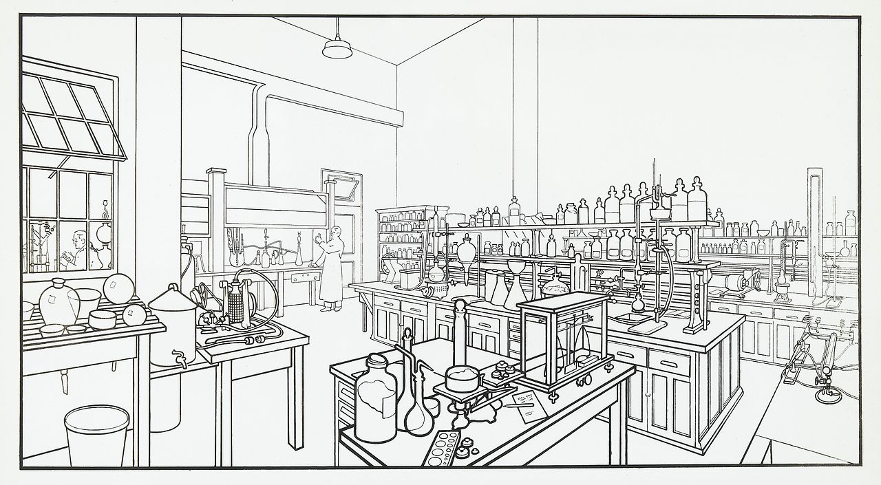 Chemical_Laboratory_room_Wellcome_L0041460
