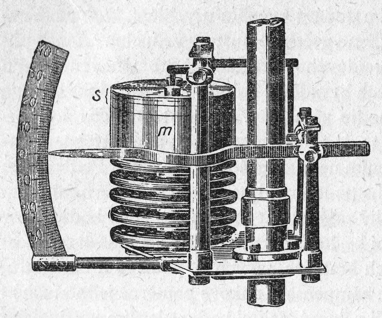Aneroiddose für die Luftdruckkompensation des Pendels, https://commons.wikimedia.org/wiki/File:Riefler_Uhr_02.jpg
