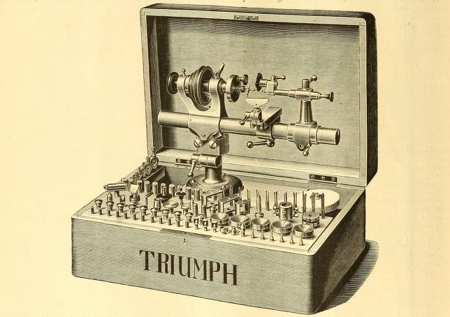 The Triumph Lathe (https://archive.org/details/watchmakerjewe1318871lond)