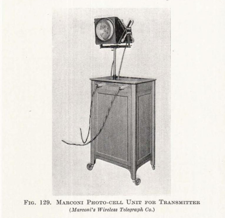 Marconi Photo-Cell for Transmitter