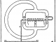 Scientific Illustration of an electronic component, an amplifying receiver