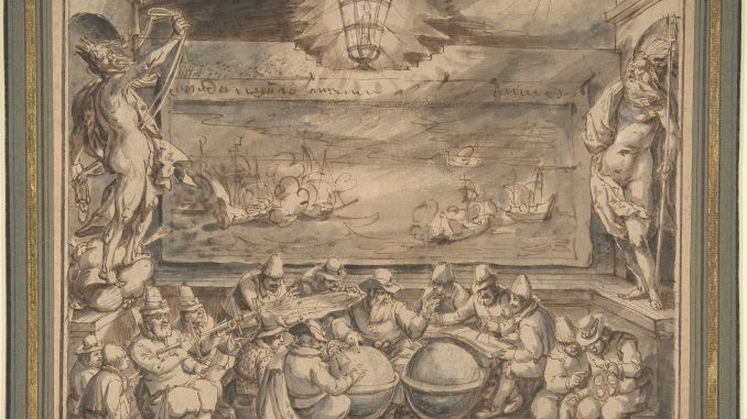 Scientific Illustration of an Early Modern or Late Renaissance class for exploration; how sailors got where they were going.